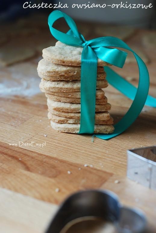 Ciasteczka owsiano-orkiszowe