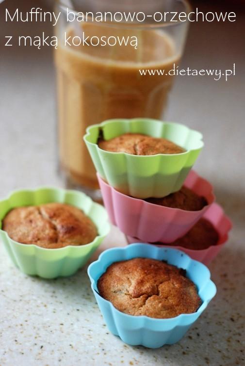 muffiny-bananowo-orzechowe-z-maka-kokosowa-dietaewy